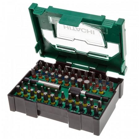 Hitachi 400.300.24 60-delers bits- og skrutrekkersett i praktisk etui