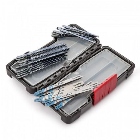 Bosch 30 x stikksagblader for tre og metall i praktisk euti
