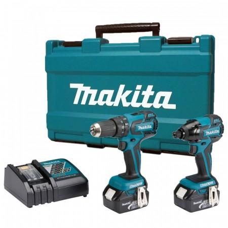 Makita DK18005 18V Duel kit (b�rstel�se motorer)