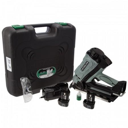 Hitachi NR90GC2 Gassdrevet Spikerpistol m/koffert