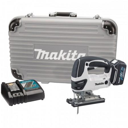 Makita BJV180RFWX 18V stikksagsett i hvit utgave