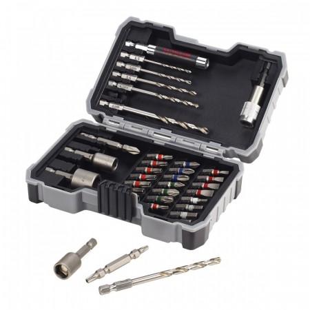 Bosch 2607017328 HSS-G Bor for metall / skrutrekker 35-delers sett i praktisk etui