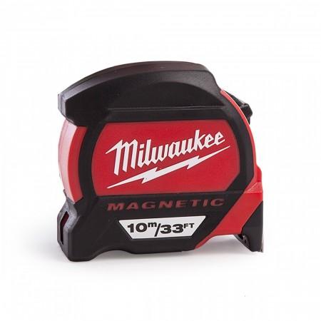Milwaukee 48227233 Premium magnetisk  høykvalitets målebånd (10m / 33ft)