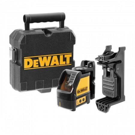 Dewalt DW088CG linje- og krysslaser med grønn laser (levert i koffert)