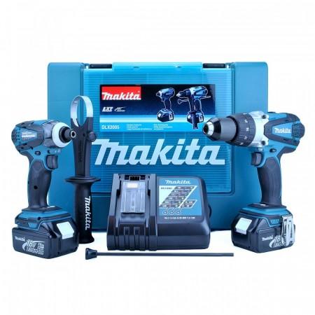 Makita DLX2005 18V Duel drillsett (2 x 3Ah batt)