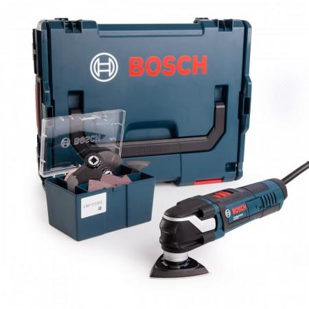 Bosch GOP 40-30 Professional Starlock multikutter 400W med 16-delers tilbehør i L-Boxx