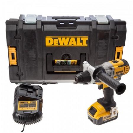 Kraftpakke! Dewalt DCD985M1 Combi Drill 18V XR li-ion (1 x 4Ah batt) - DS150 koffert