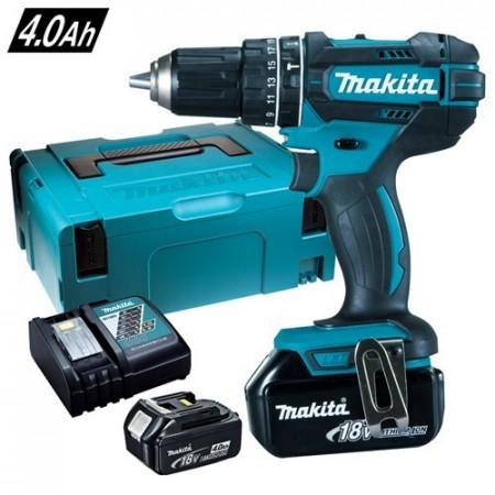 Makita DHP482RMJ 18V combi drillsett (2x4Ah batt)