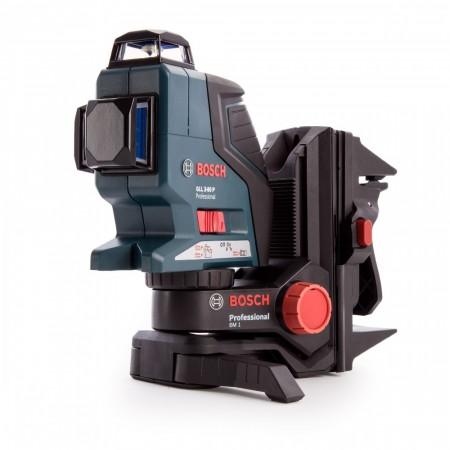 Bosch GLL 3-80 P Profesjonell kompakt multi linje- og krysslaser + BM1 veggfeste