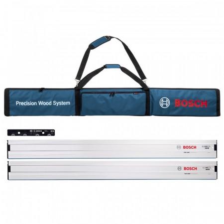 Bosch styeskinnesett, 2 x FSN 1600 og 1 x FSN VEL