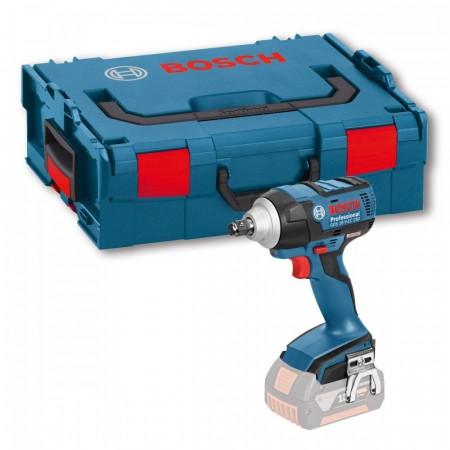 Bosch GDS18VEC250CG 18V Li-ion høy momentsmuttertrekker (kun kropp) i L-Boxx