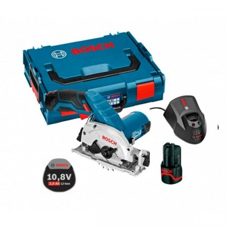 NYHET! Bosch GKS 10,8 V-LI sirkelsag 2x2,0Ah