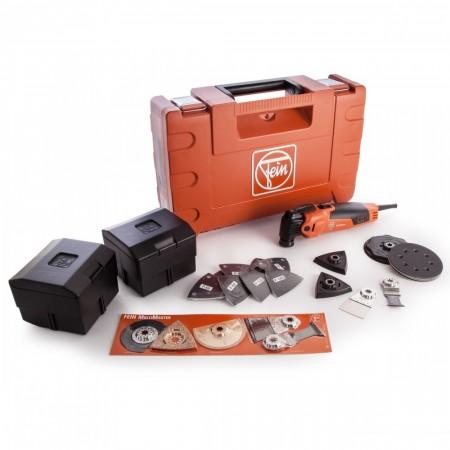 Fein FMM350QSL 230V Multimaster Top multikutter med QuickIN, Starlock Plus og mye tilbehør