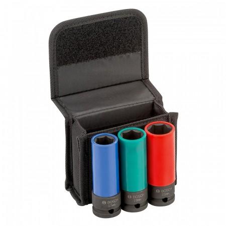 """Bosch 2608551102 3-delers 1/2"""" pipesett"""