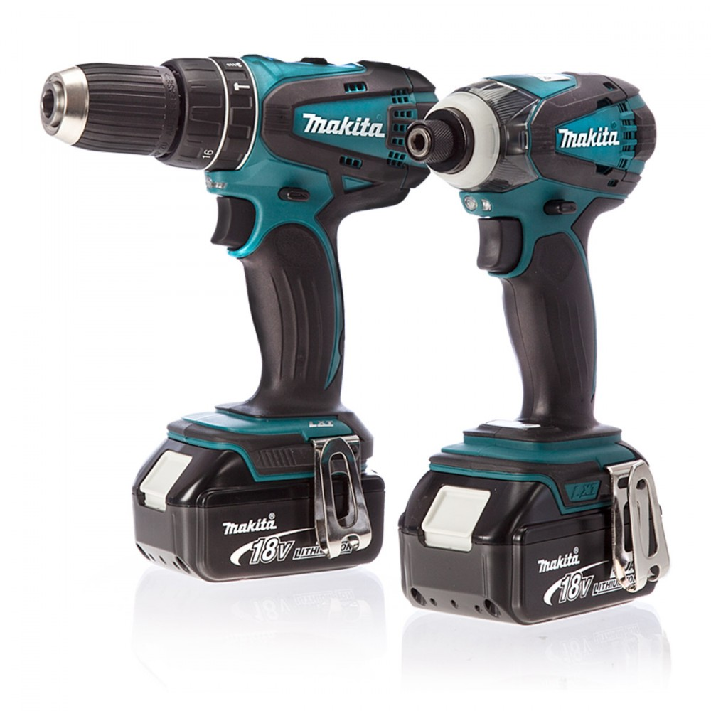 makita dlx2012mx 18v combi drill slagtrekker 2 x 4ah batt prohandel as. Black Bedroom Furniture Sets. Home Design Ideas
