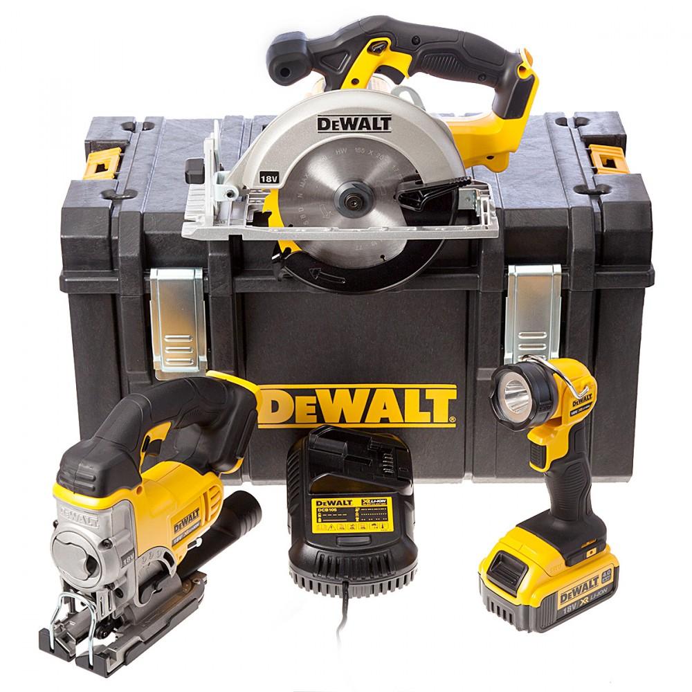 sett DCS391DCS331DCL0401 delers Dewalt 3 x batteridrevet 18V b76vYfgy