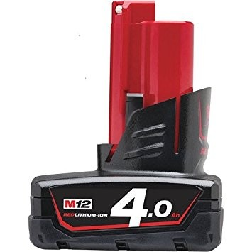 Milwaukee M12B4 12V 4Ah lithium batteri