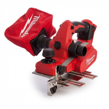 Milwaukee M18 BP høvel (kun kropp)