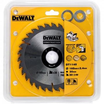 3086afd58 Dewalt DT1145 165mm Sirkelsagblad