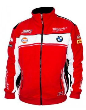 Milwaukee BMW Fleece jakke WORLD SUPERBIKES OFFICIEL 2016 TEAM EXTRA LARGE
