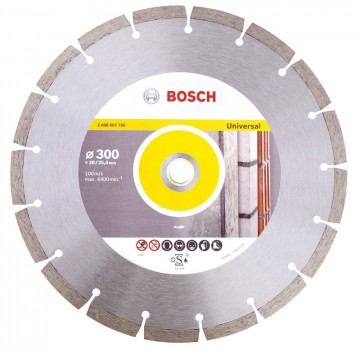 Bosch 2608615032 diamant blad for universal bruk 300x20mm