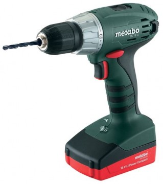 Metabo BS18 Li 18V Kompakt drillsett