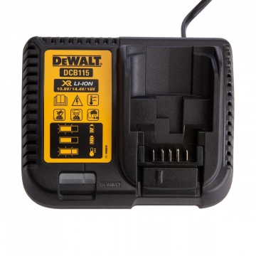 Dewalt DCB115 XR Multi-spennings hurtiglader 10.8V-18V