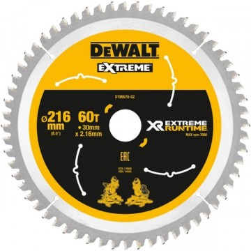 Dewalt Extreme DT99570 216x30mm x 60-tenner for trevirke