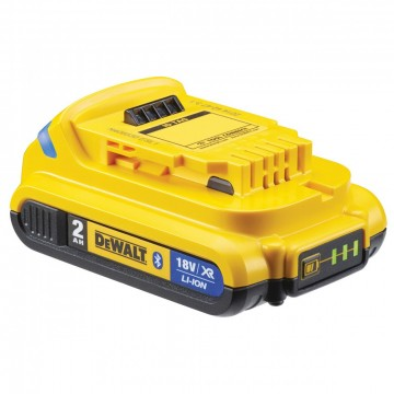 Dewalt DCB183B Bluetooth 18V 2Ah lithium ion batteri