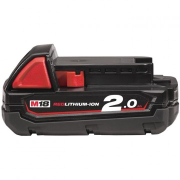 Milwaukee 18V 2,0Ah Red Li-Ion batteri